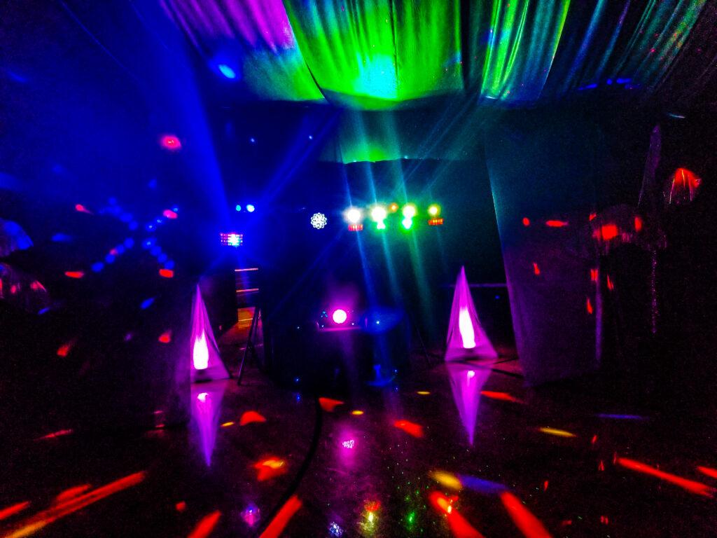 The DJ Music System.