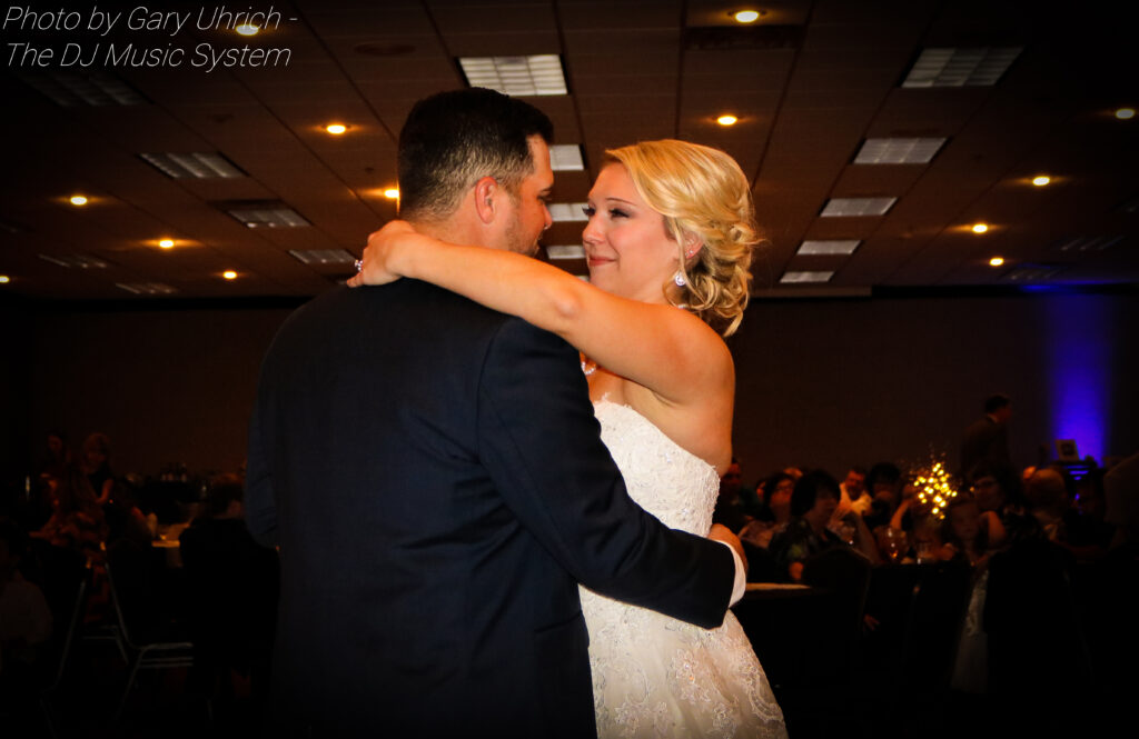 Bride and Groom First Dance Hampton Inn Scottsbluff